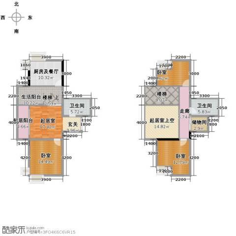 华风海城湾2卫0厨122.62㎡户型图