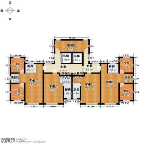 浅草绿阁4室4厅3卫4厨302.00㎡户型图