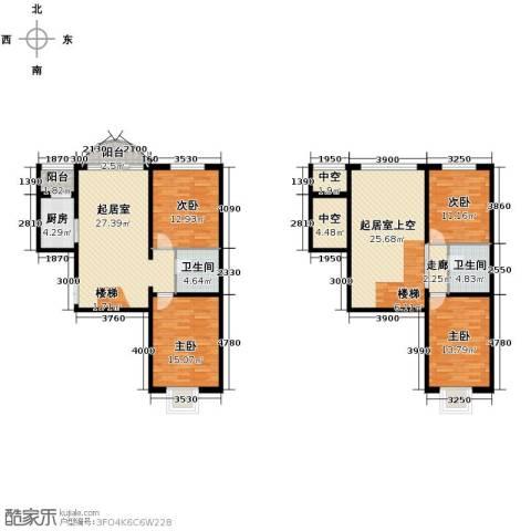 华风海城湾4室0厅2卫1厨132.73㎡户型图