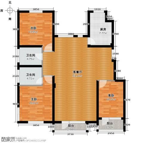 江户雅致3室2厅2卫0厨141.00㎡户型图