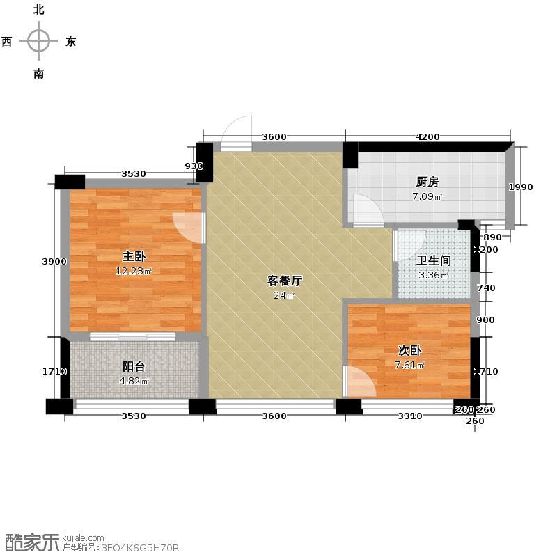 宋都阳光国际66.75㎡二期A3-户型10室