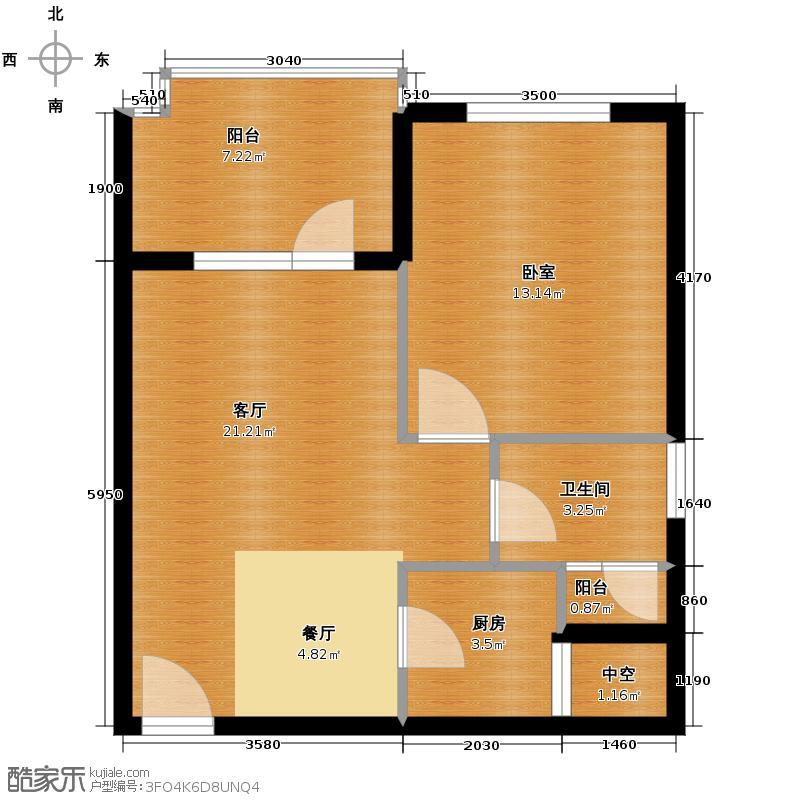清平乐59.40㎡户型10室
