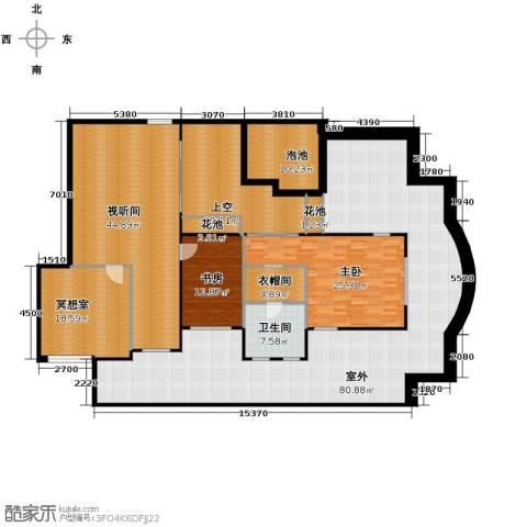 凤凰水城御河湾4室3厅3卫0厨227.60㎡户型图