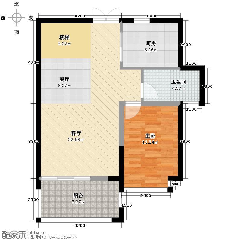 广宇上东城138.00㎡底层户型10室