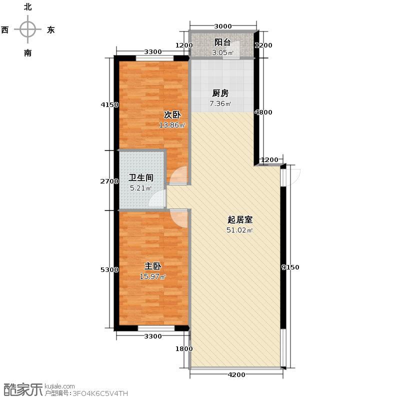 悦山国际75.63㎡两市户型10室