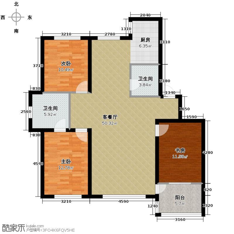 金质融城123.30㎡C5户型10室