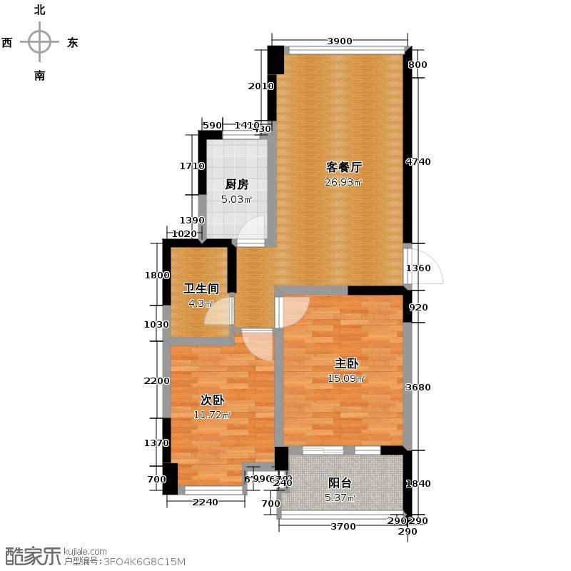 圣奥领寓89.00㎡圣奥・领寓A1户型10室