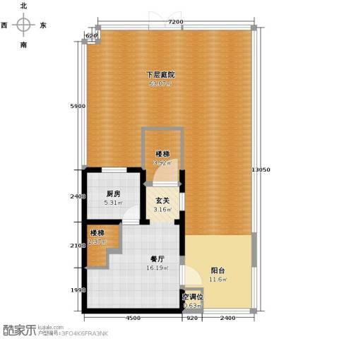 牛驼温泉孔雀城127.00㎡户型图