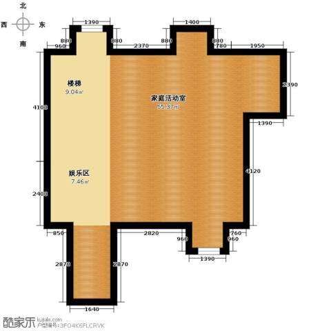 永定河孔雀城剑桥郡75.00㎡户型图