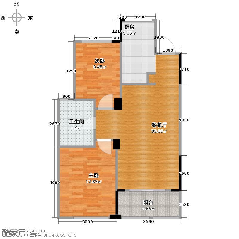 宋都阳光国际66.97㎡F3-3户型10室