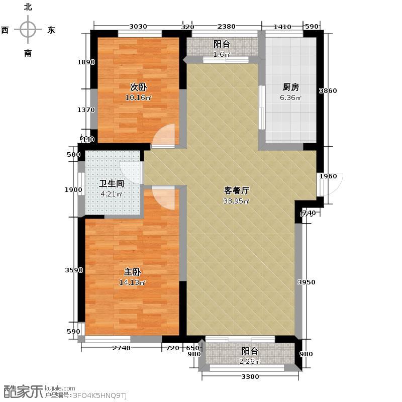 贻成豪庭111.00㎡C1户型10室