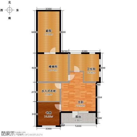永定河孔雀城剑桥郡2室0厅1卫0厨133.00㎡户型图