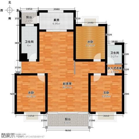 联邦・御景江山3室0厅2卫1厨149.00㎡户型图