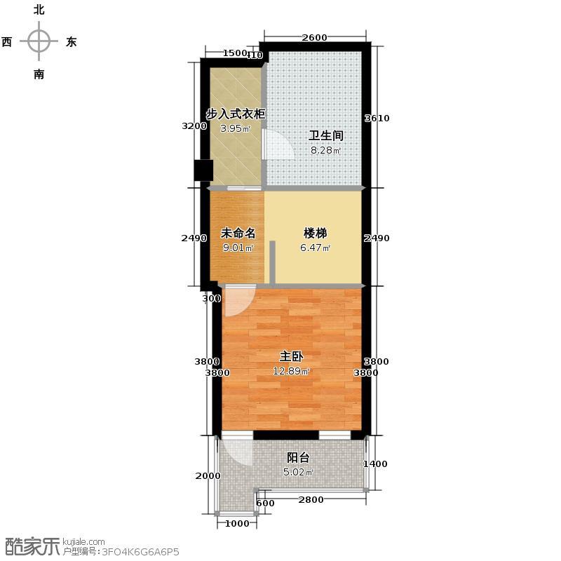 郡原相江公寓186.50㎡F-A2二层户型4室2厅2卫
