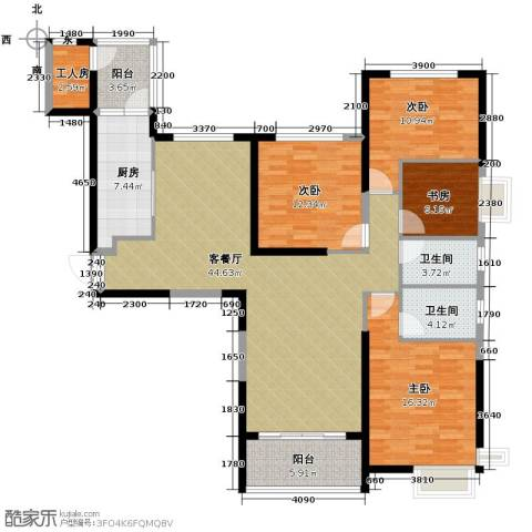 恒大城5室2厅2卫0厨172.00㎡户型图