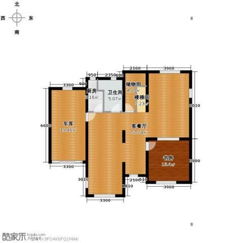 田纳溪湖1室1厅1卫1厨240.00㎡户型图