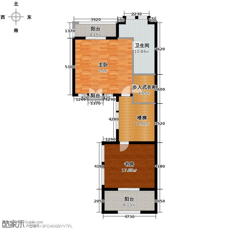金都夏宫400.00㎡六联27#房号2第三层户型10室