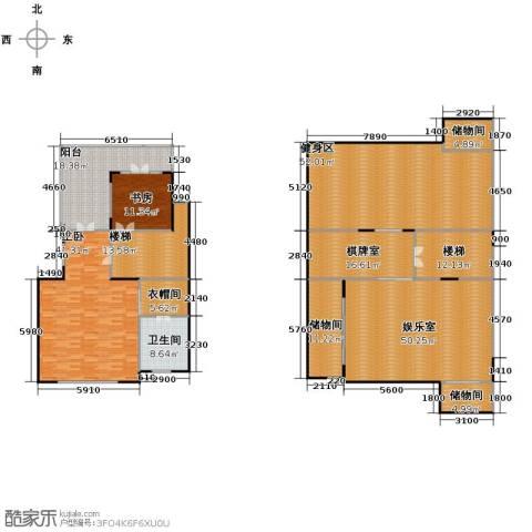 保利红珊瑚5室3厅5卫0厨326.00㎡户型图