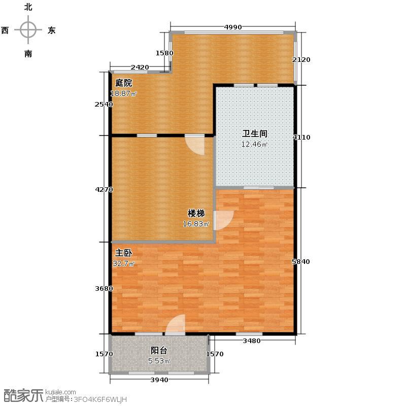 力旺弗朗明歌310.00㎡联排别墅三层户型4室