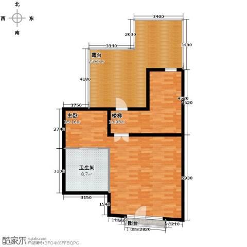 中信城1室1厅1卫0厨365.00㎡户型图