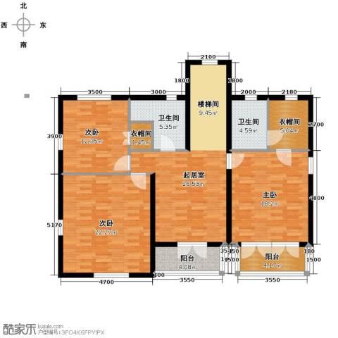 田纳溪湖3室0厅2卫0厨236.00㎡户型图