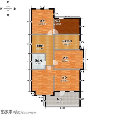 远洋戛纳小镇2室1厅1卫0厨270.00㎡户型图