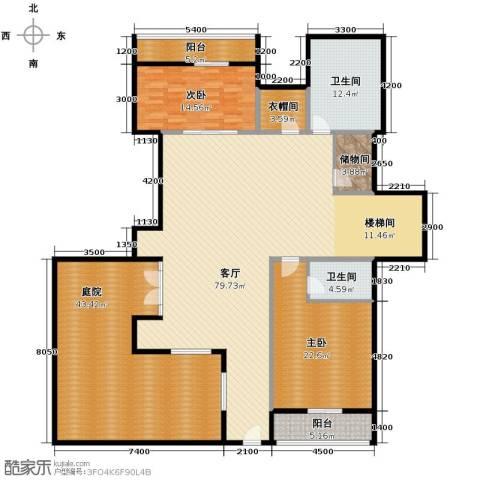 远洋戛纳小镇1室1厅2卫0厨195.14㎡户型图