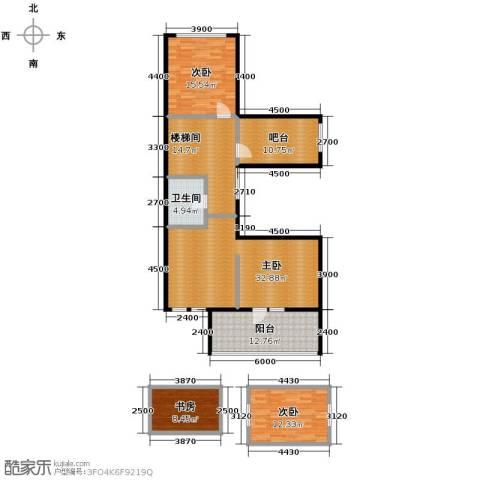 远洋戛纳小镇2室2厅1卫0厨112.35㎡户型图