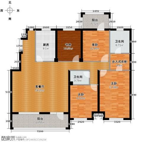 江户雅致4室2厅2卫0厨171.00㎡户型图