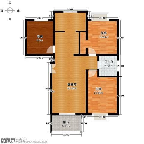 丽湾岛2室2厅1卫0厨105.00㎡户型图