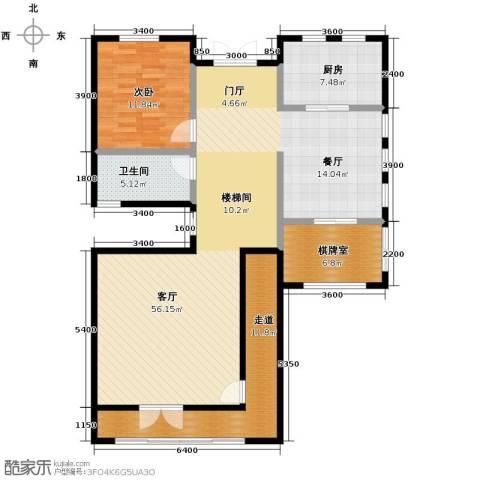 新世纪颐龙湾139.00㎡户型图