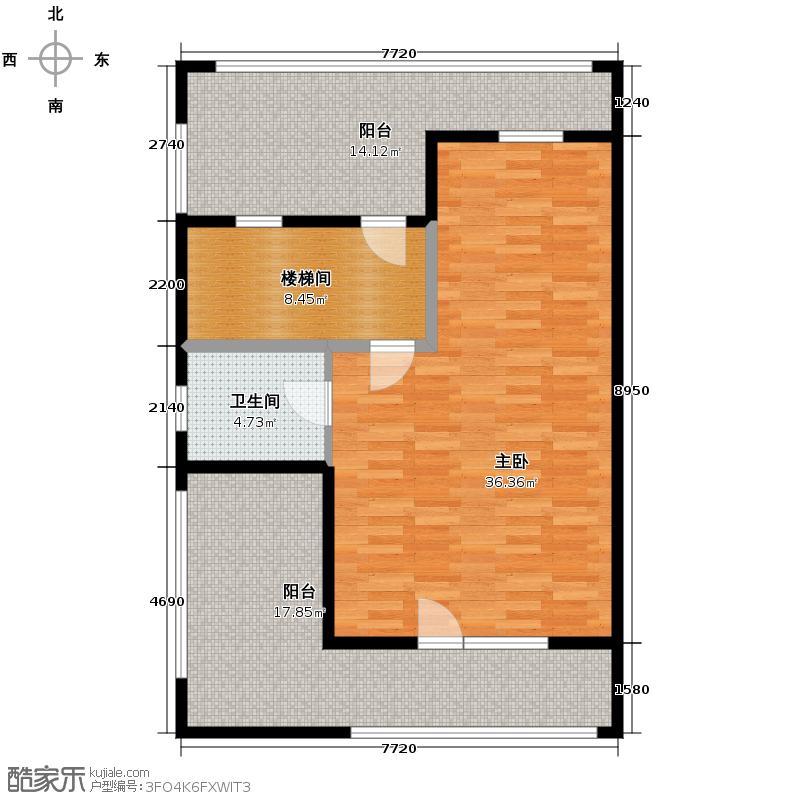 美地庄园170.00㎡房型多联别墅户型10室
