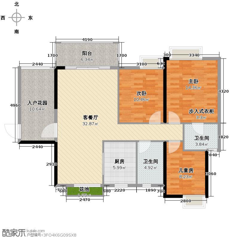 鼎峰花漫里118.00㎡1栋1单元022单元01、02户型10室