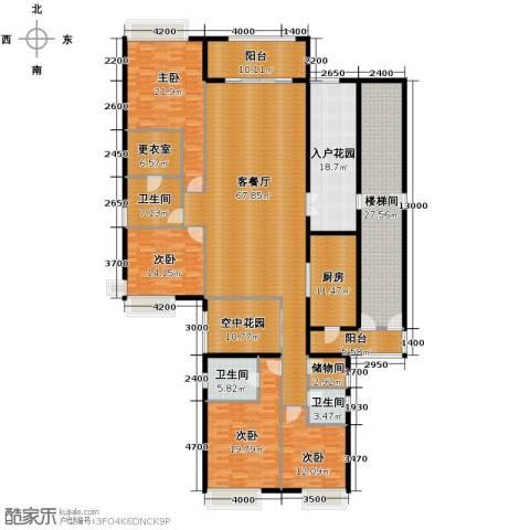 保利外滩一号4室2厅3卫0厨245.89㎡户型图
