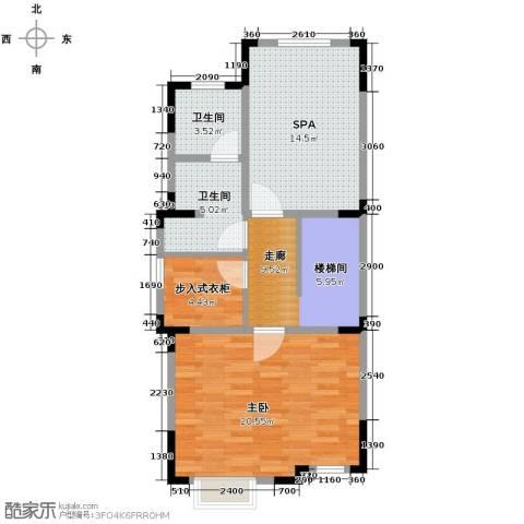 牛驼温泉孔雀城267.00㎡户型图
