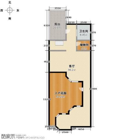 远洋戛纳小镇1室2厅1卫0厨305.00㎡户型图