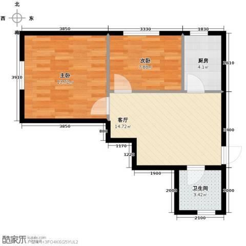 明城・新北市62.00㎡户型图