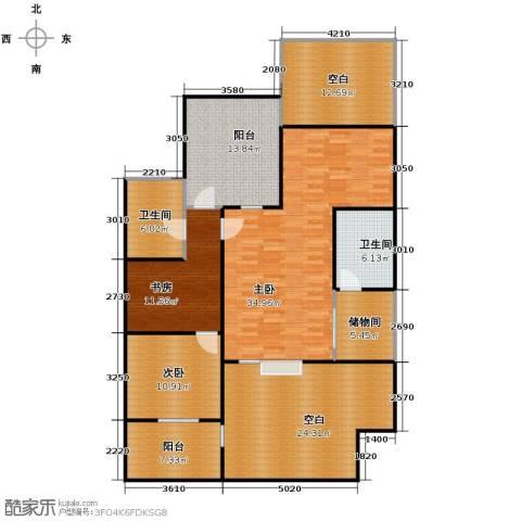 我的家园3室0厅2卫0厨185.00㎡户型图