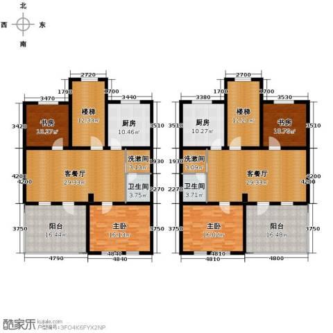 欧风小镇4室2厅2卫2厨203.70㎡户型图