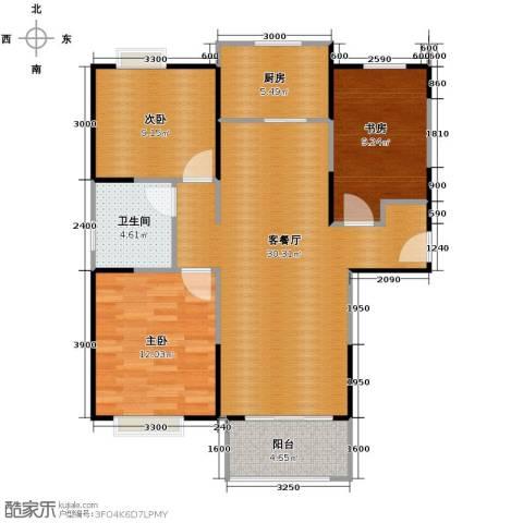 祥源城3室2厅1卫0厨103.00㎡户型图