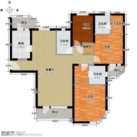 仁恒海河广场160.00㎡户型图