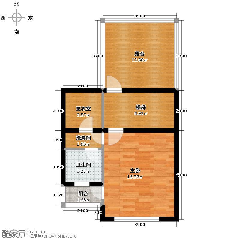 天鹅堡229.00㎡H3三层户型10室