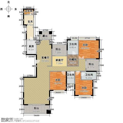 山语清晖花园6室2厅4卫0厨210.00㎡户型图