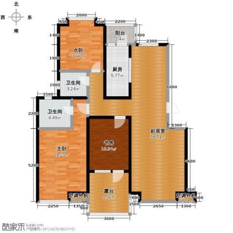 金厦・龙第世家146.00㎡户型图