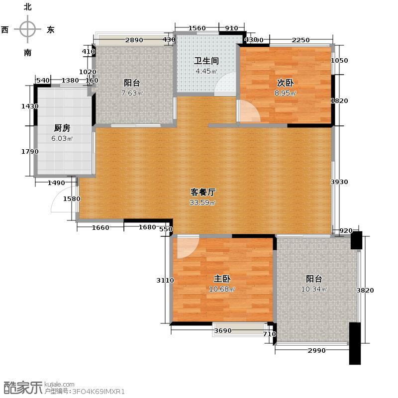中信新城3.00㎡c3建筑面积约8854m2户型10室