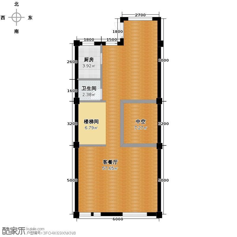 莱蒙国际公馆220.00㎡1层户型10室