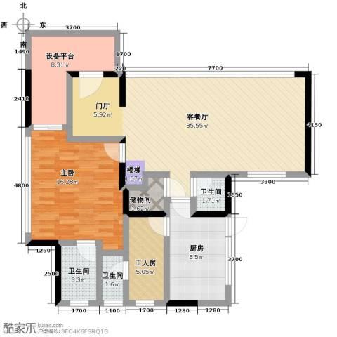 和黄懿花园4室2厅5卫0厨173.00㎡户型图