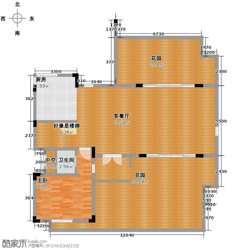 中安长岛187.10㎡A1博雅华宅二层平面图户型10室