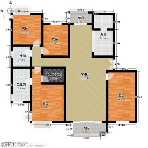 海河大道宽景公寓208.00㎡户型图