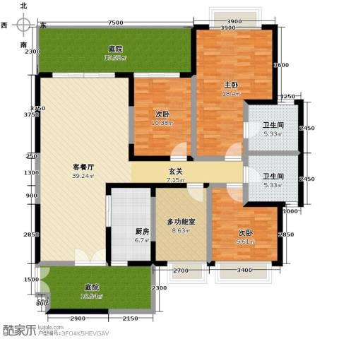 仁和春天国际花园4室2厅2卫0厨160.00㎡户型图